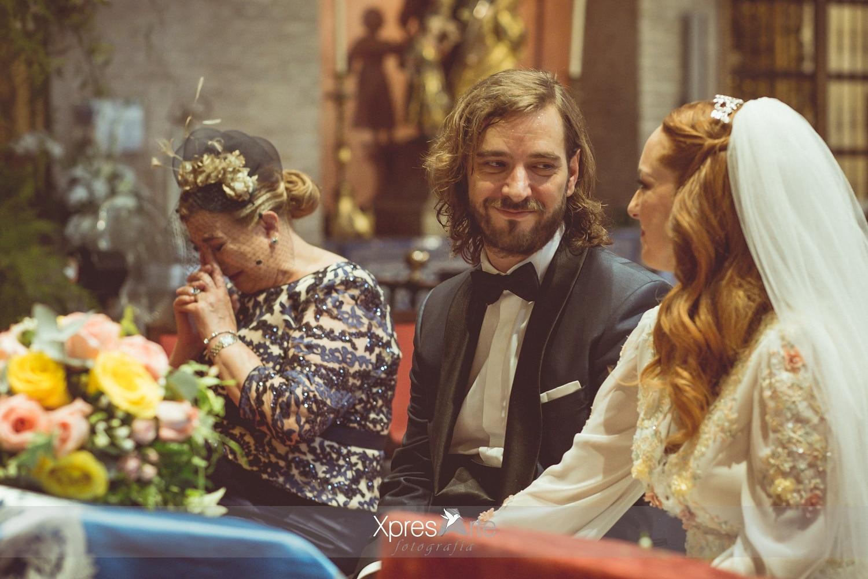 Fotografo de boda en Sevilla iglesia de santa ana