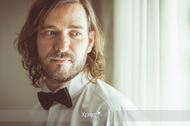 novio antes de la boda