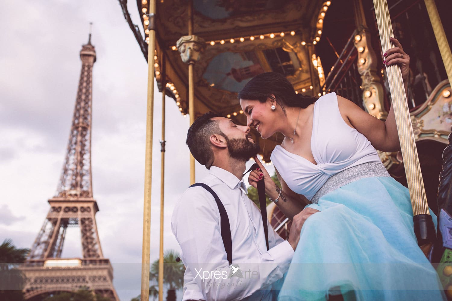 fotos de preboda en paris