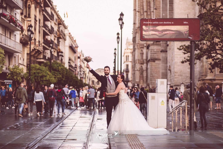 Fotografos de bodas en Sevilla