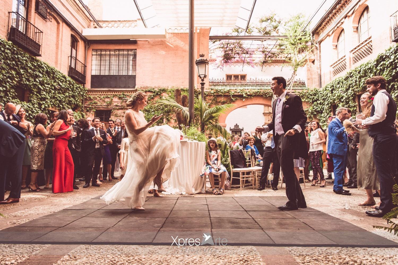 Fotos de boda casa guardiola sevilla