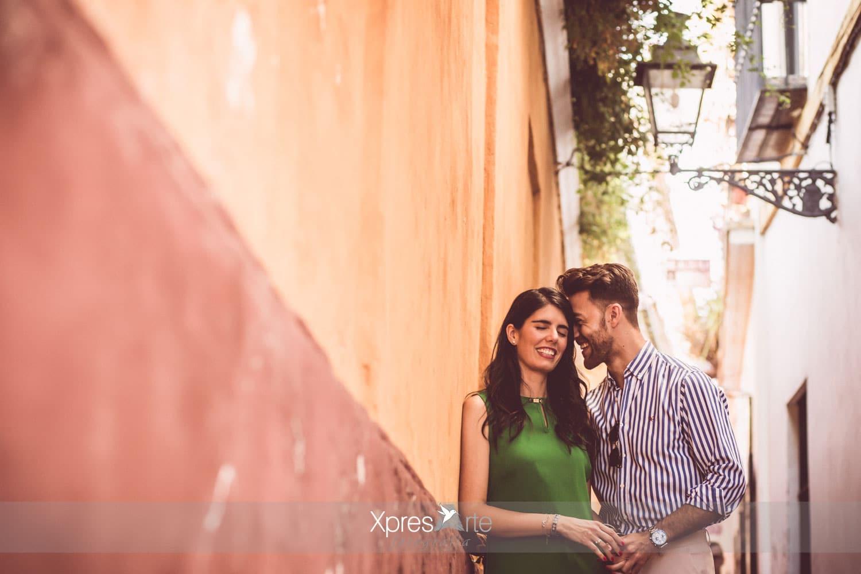 Fotografo de boda en Sevilla barrio santa cruz