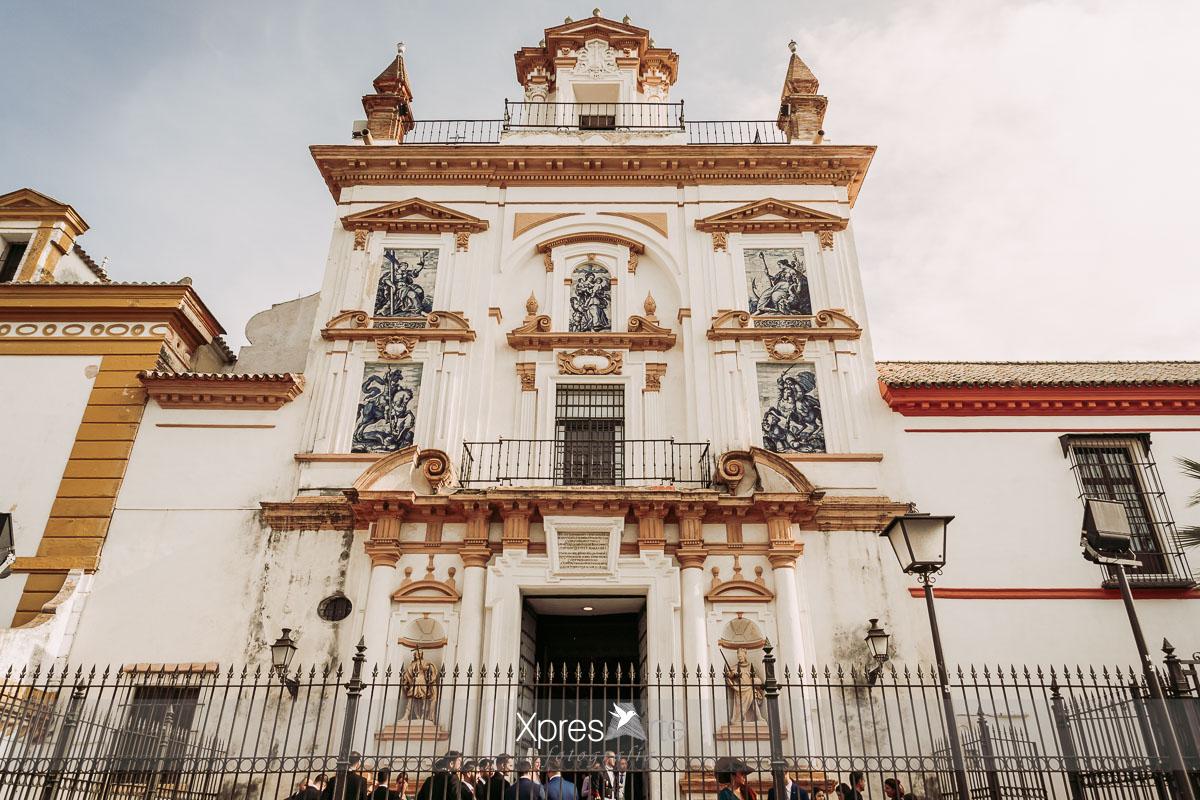 Iglesia hospital de la caridad en Sevilla