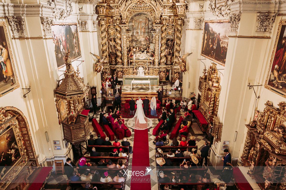 Retablo iglesia de la caridad en Sevilla