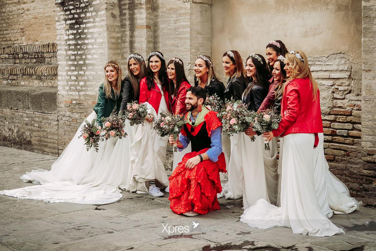 10 novias en la catedral de Sevilla